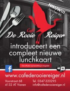 Lunchkaart Rooie Reiger